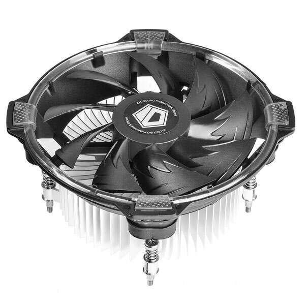 Вентилятор ID-Cooling DK-03 Halo Intel white