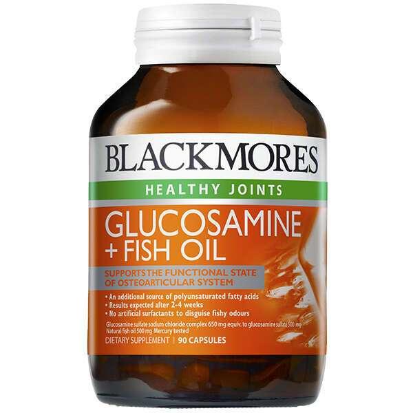 Биологически активная добавка Black Mores Glucosamine + Fish Oil