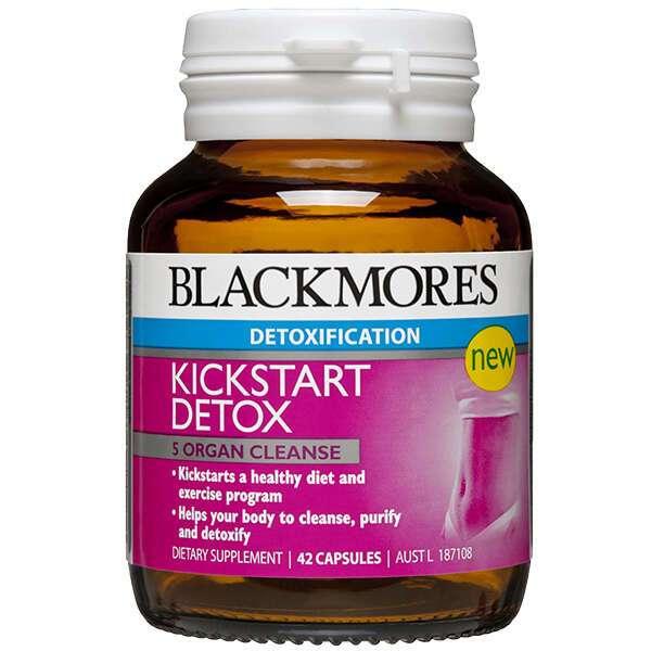 Биологически активная добавка Blackmores KickStart Detox