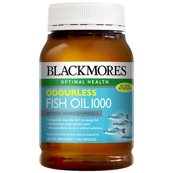 Биологически активная добавка Blackmores Odourless Fish Oil (150 капсул)