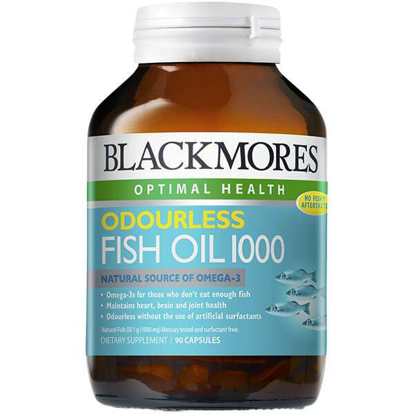 Биологически активная добавка Black Mores Odourless Fish Oil (90 капсул)
