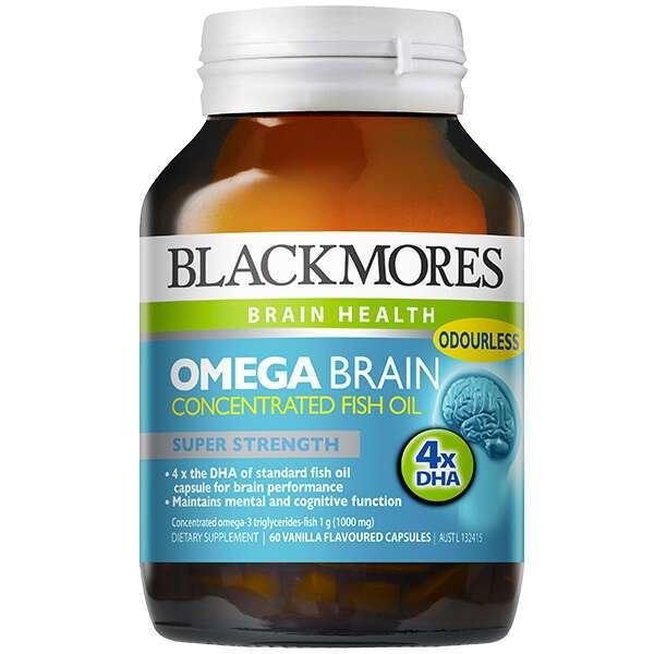 Биологически активная добавка Black Mores Omega Brain