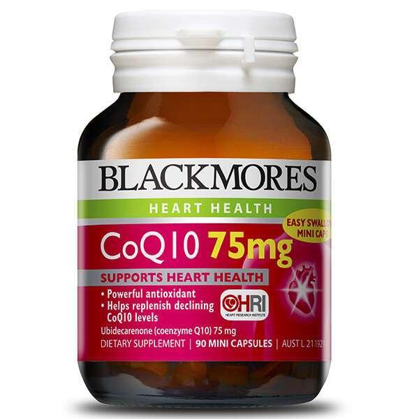 Биологически активная добавка Black Mores CoQ10 75mg