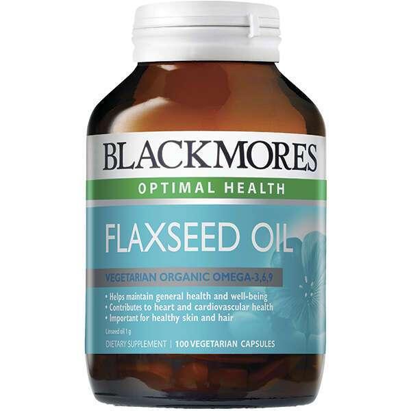 Биологически активная добавка Black Mores Flaxseed Oil