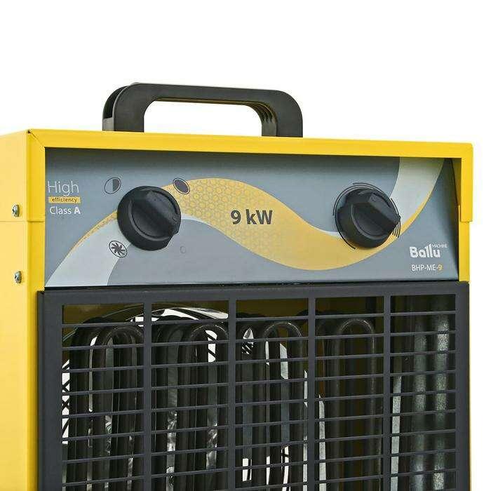 Тепловая пушка BALLU BHP-ME-9, электрическая, 0.042/6/9 кВт, 820 м3/ч, 380 В
