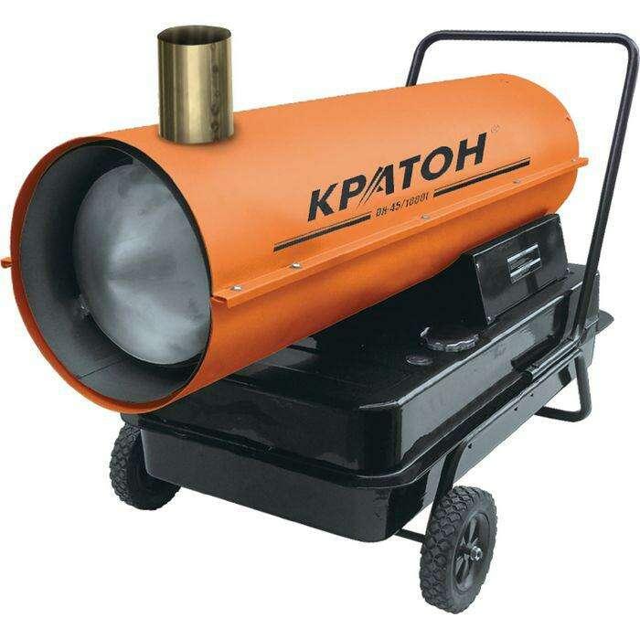 """Тепловая пушка """"Кратон"""" DH-45/1000I, дизельная, 45 кВт, 1000 м3/ч, непрямой нагрев"""