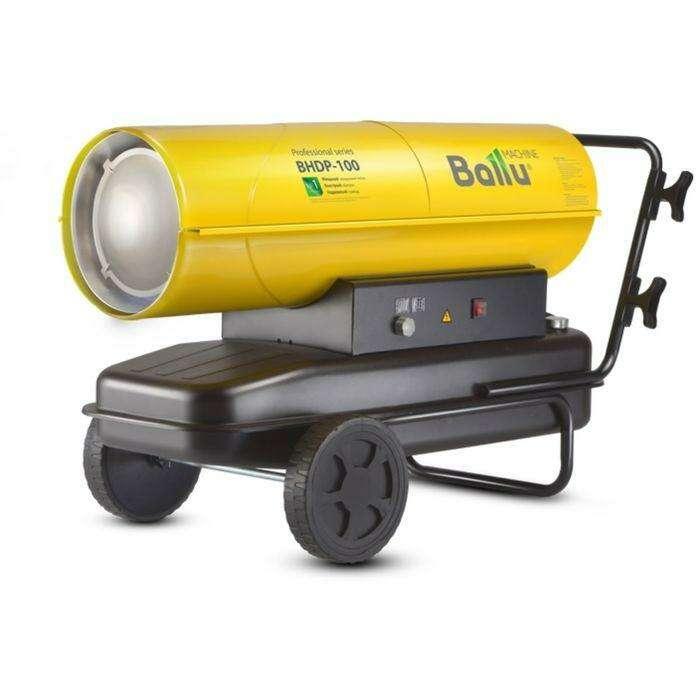 Тепловая пушка Ballu BHDP-100, дизельная, 100 кВт, 1300 м3/ч, 68 л, прямой нагрев