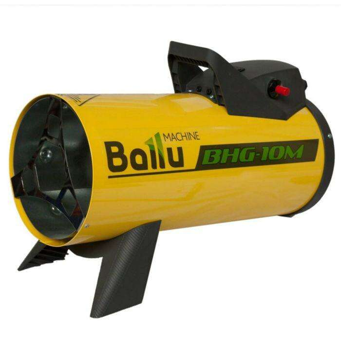 Пушка тепловая BALLU BHG-10M, газовая, 10 кВт, 300 м3/ч, 0.8 кг/ч, 220 В