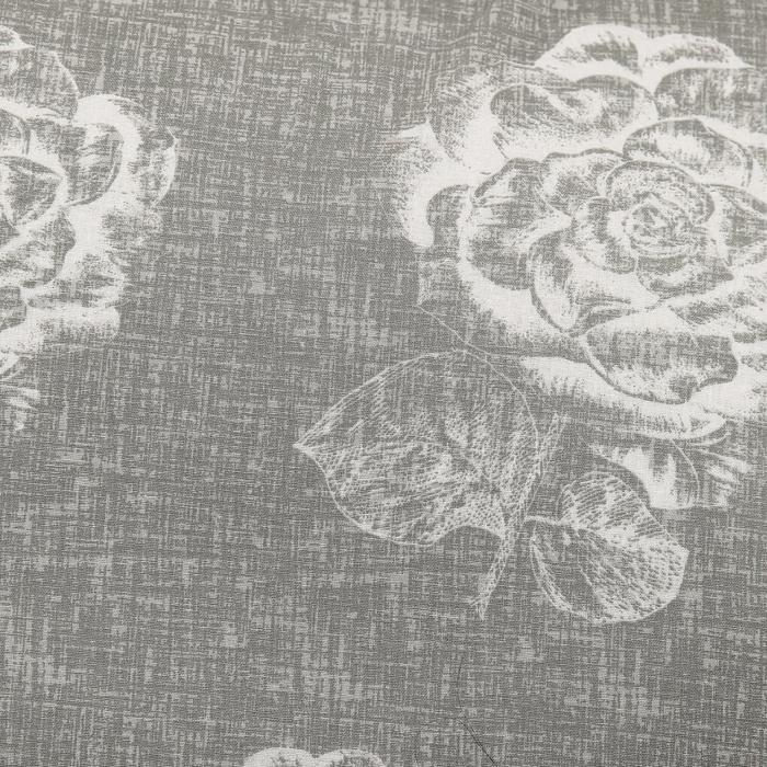 """Постельное бельё """"Этель"""" 1,5 сп., Серебряная роза, размер 143х215 см, 150х214 см, 70х70 см - 2 шт., поплин, 125 г/м2"""