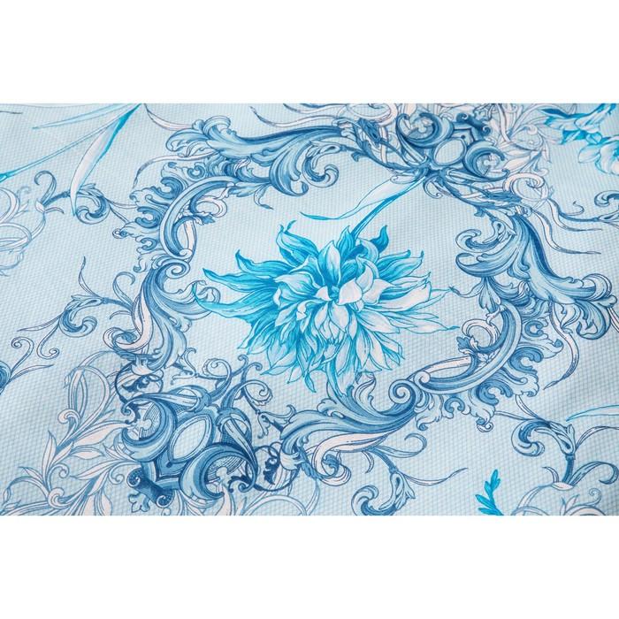 Постельное бельё 2сп Ночь Нежна «Лунный свет», цвет синёный, 175х215см, 180х220см, 70х70см — 2 шт