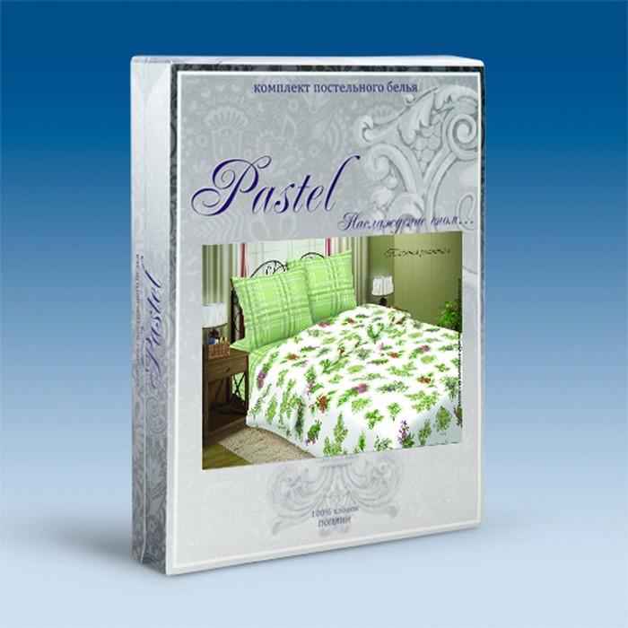 Постельное бельё 1,5сп Pastel «Таежная романтика», 147х217, 150х220, 70х70 - 2 шт