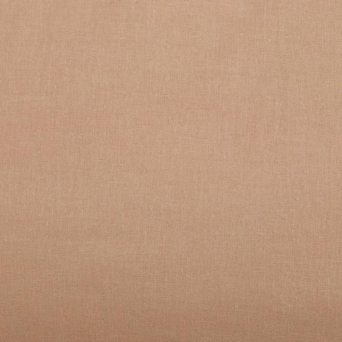 Постельное бельё «Этель: Арома поплин», 1.5-сп., 150 × 210 см, 150 × 220 см, 50 × 70 см (2 шт.), корица , 125 г/м², 100%-ный хлопок