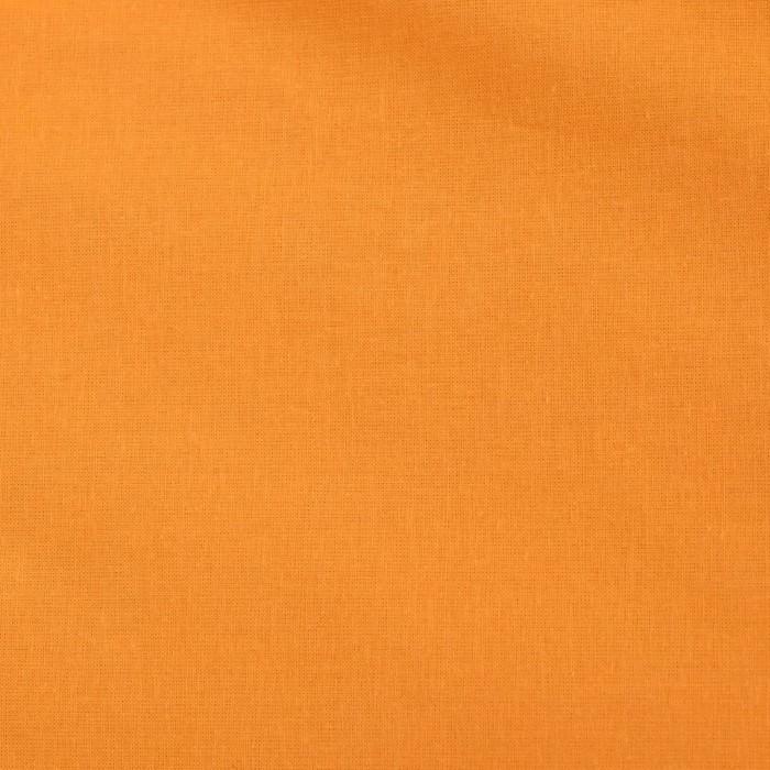 Постельное бельё «Этель» 2 сп. Арома Поплин 180×210 см, 200×220 см, 50×70 см - 2 шт., Папайя, 125 г/м², 100% хлопок