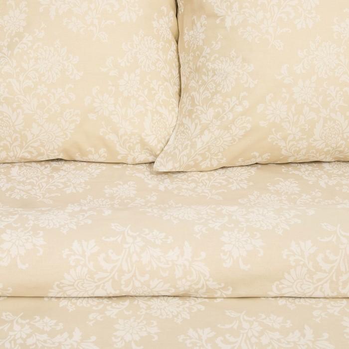 Постельное бельё евро Сударушка Кружевница 205×217см, 220×240 см, 70×70 см 2 шт., бязь, 125 г/м²