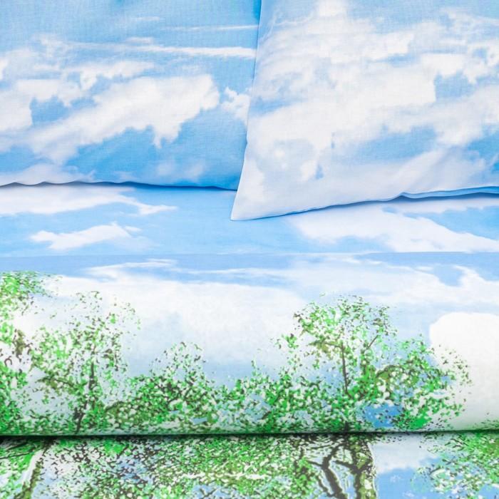Постельное бельё 2 сп. «Василиса» Березка 175х215 см, 200х220 см, 70х70 см - 2 шт.