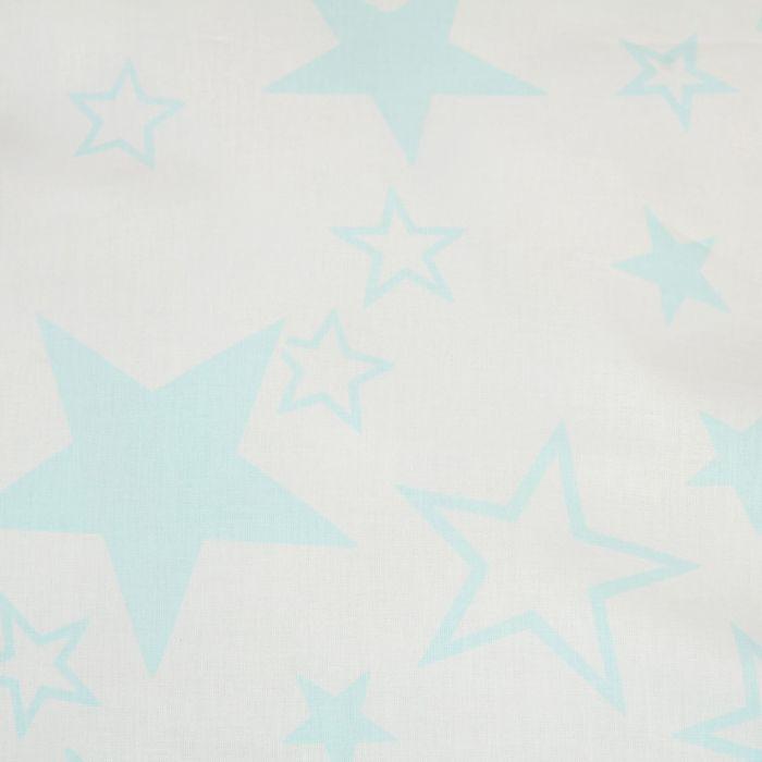 """Постельное бельё евро""""Pastel: Звезды"""", 200х217, 220х240, 70х70см - 2 шт"""