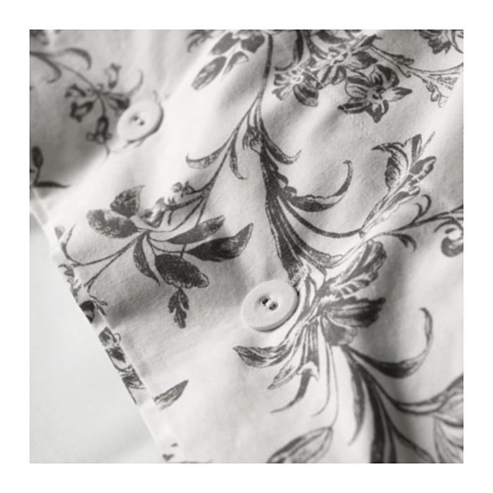 КПБ АЛЬВИНЕ КВИСТ, размер 150х200 см, 50х70 см-1 шт., цвет белый/серый