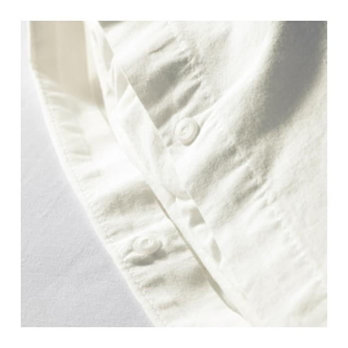 КПБ ЭНГСЛИЛЬЯ, размер 200х200 см, 50х70 см-2 шт., цвет белый