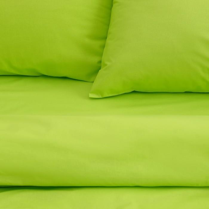 Постельное бельё «Этель» дуэт Арома Поплин 150×210 см - 2 шт., 220×240 см, 50×70 см - 2 шт., Яблоко , 125 г/м², 100% хл
