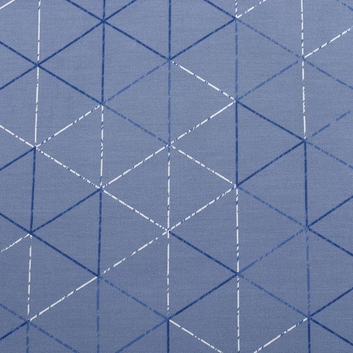 Постельное бельё 1,5 сп. Этель Люкс «Ромбы» 150×210 см, 150×220 см, 50×70 + 5 см - 2 шт, сатин, 100% хл, 130 г/м²