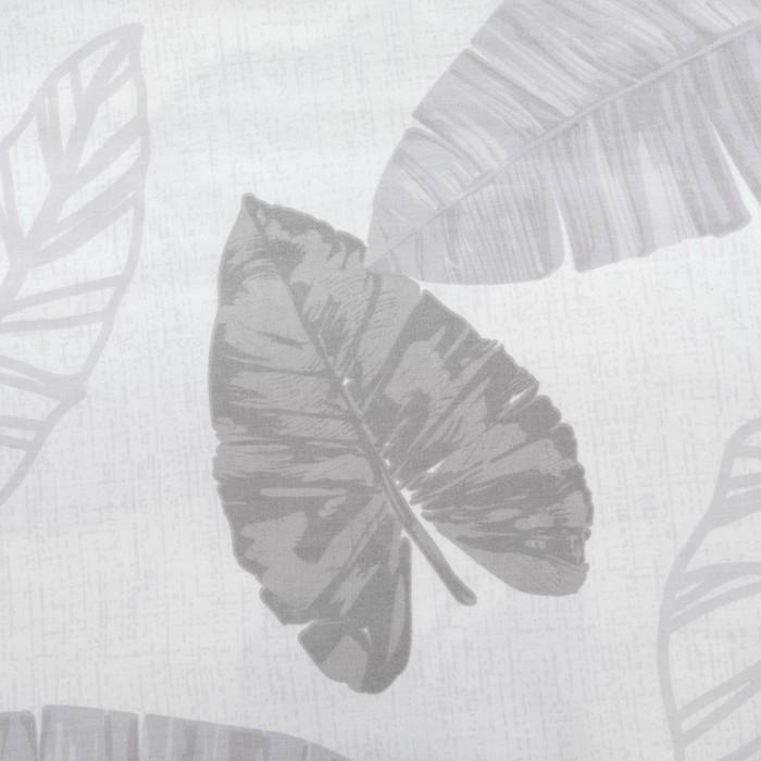 Постельное бельё 1,5 сп. Этель Люкс «Тропики» 150×210 см, 150×220 см, 50×70 + 5 см - 2 шт, сатин, 100% хл, 130 г/м²
