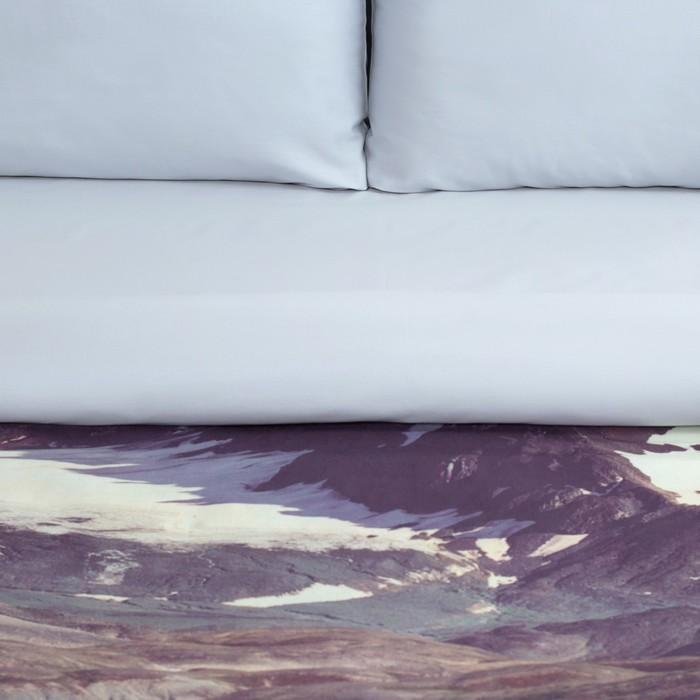 """Постельное бельё """"Этель"""" 1.5 сп Горный пейзаж 143х215см, 160х240 см, 50х70 см - 2 шт, мако-сатин"""