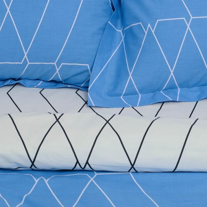 Постельное бельё 2 сп. Этель Люкс «Квандонг» 180×210 см, 200×220 см, 50×70 + 5 см - 2 шт, сатин, 100% хл, 130 г/м²