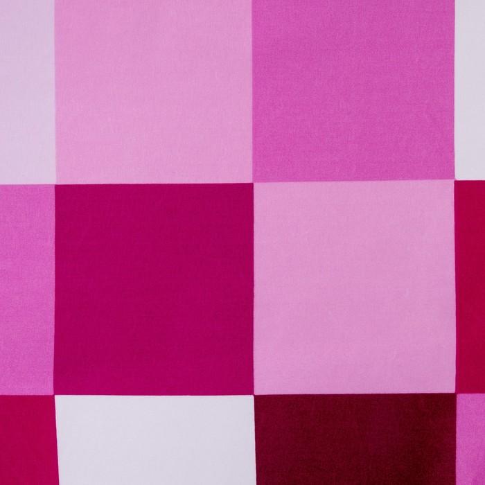 """Постельное бельё """"Этель"""" 1,5 сп. Пиксели (фиолетовый) 150х210 см, 150х210 см, 50х70 ± 3 см - 2 шт., новосатин"""