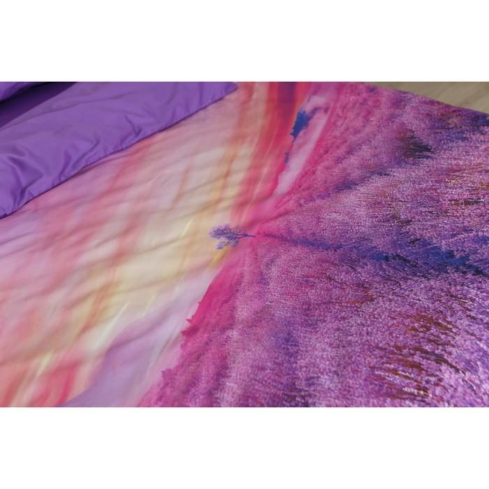 """Постельное бельё """"Этель"""" «Лавандовый закат», 2-сп., 175 × 215, 220 × 240, 50 × 70 см, 2 шт., мако-сатин"""