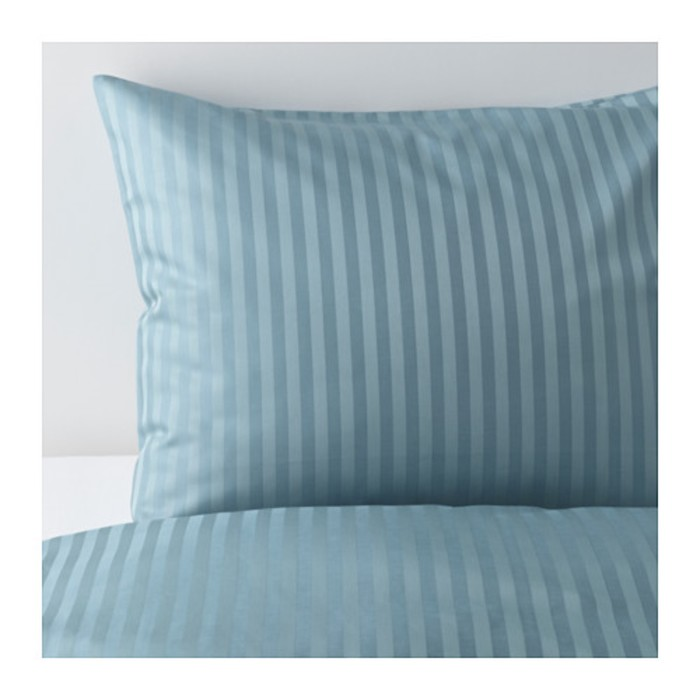 КПБ НАТТЭСМИН, размер 200х200 см, 50х70 см-2 шт., цвет синий