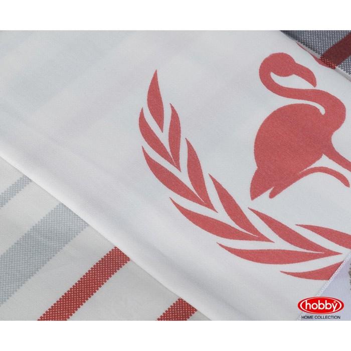 КПБ Flamingo 2 сп, 240х260 см, 200х220 см, 50х70 см, 70х70 см по 2 шт, красный
