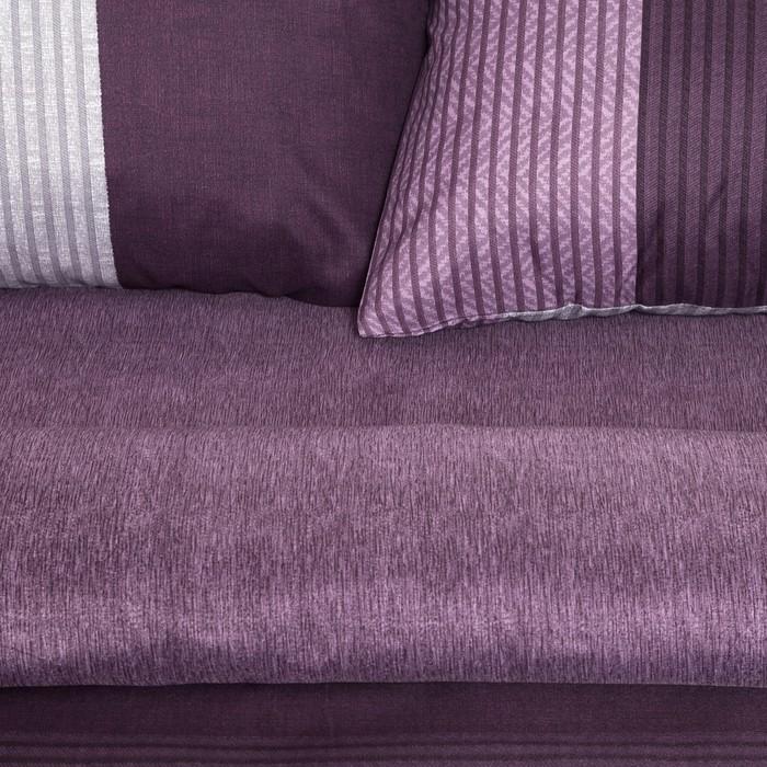Постельное бельё Этель 2 сп. «Стиль» цвет сиреневый 180×210 см, 220×240 см, 50×70 ± 3 см - 2 шт., новосатин