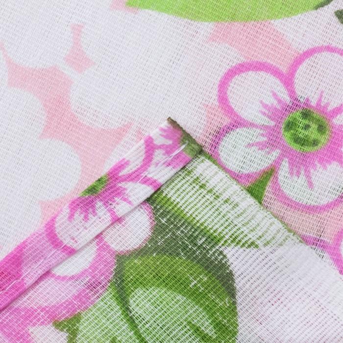 Постельное бельё 1,5 сп «Яблоневый», цвет розовый, 147х210 см, 150х210 см, 70х70 см -2 шт бязь