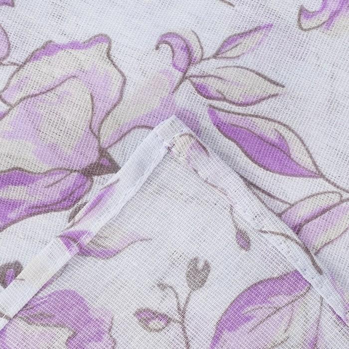 Постельное бельё La Marka 1,5 сп. Гармония (фиолет) 147х210, 150х210, 70х70см 2шт, бязь, 105г/м, хл100%