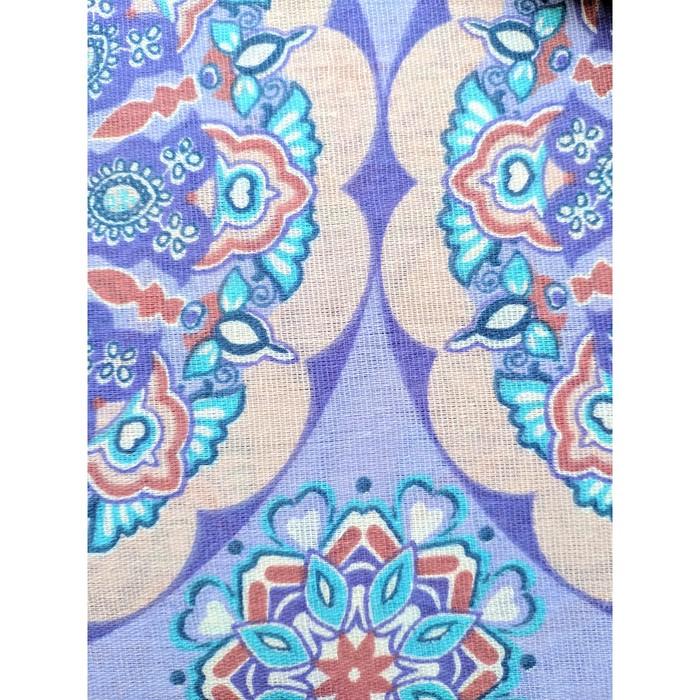 Постельное бельё La Marka 1,5 сп. Розетки (фиолет) 147х210, 150х210см, 70х70см 2шт, бязь, 105г/м, хл100%