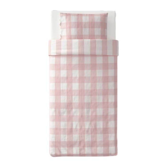 КПБ ЭММИ РУТА, размер 150х200 см, 50х70 см-1 шт., цвет светло-розовый