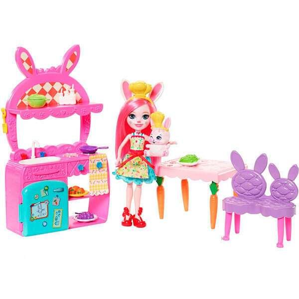 """Игровой набор """"Всегда вместе"""" забавная кухня Кролика Бри FRH47"""