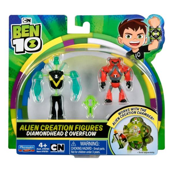 Игровой набор Ben 10 Alien Creation. Алмаз - Водохлёст