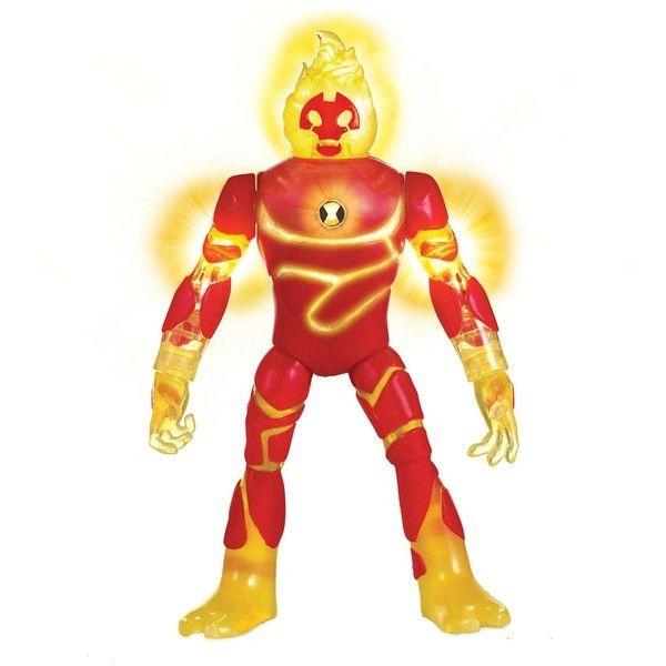 Игровой набор Ben 10 Фигурка Человек-огонь (свет, звук)