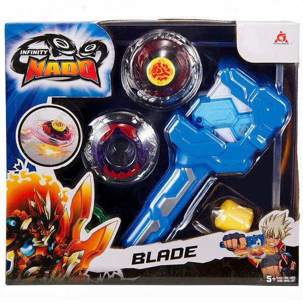 Игровой набор Infinity Nado Волчок Атлетик, Blade