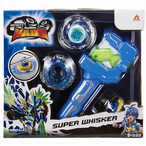 Игровой набор Infinity Nado Волчок Атлетик, Super Whisker