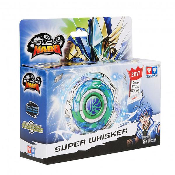 Игровой набор Infinity Nado Волчок Металл, Super Whisker