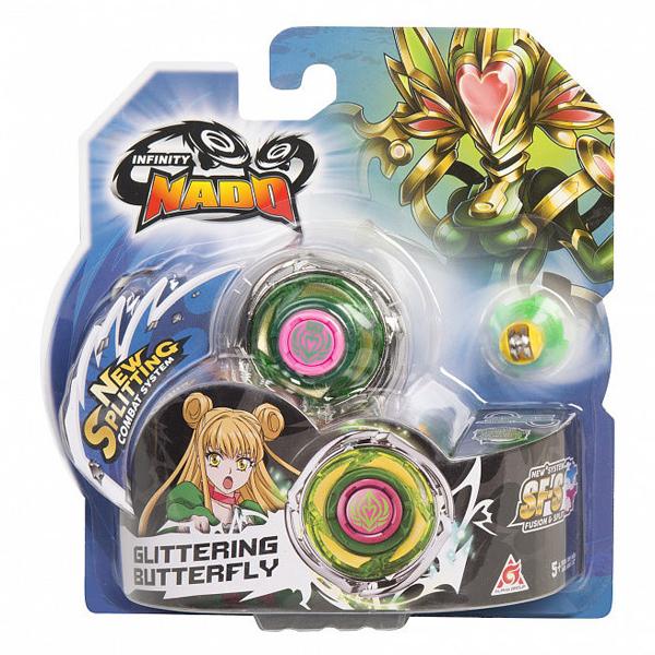 Игровой набор Infinity Nado Волчок Стандарт, Glittering Butterfly