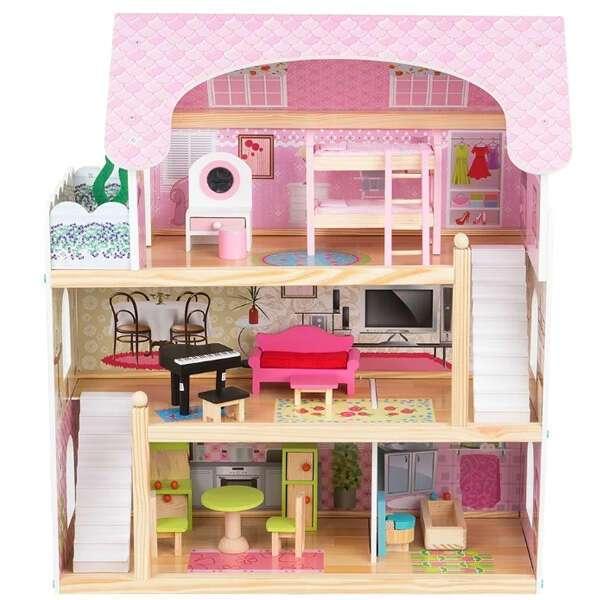 Кукольный дом с мебелью Edufun EF4110 (62,5 см)