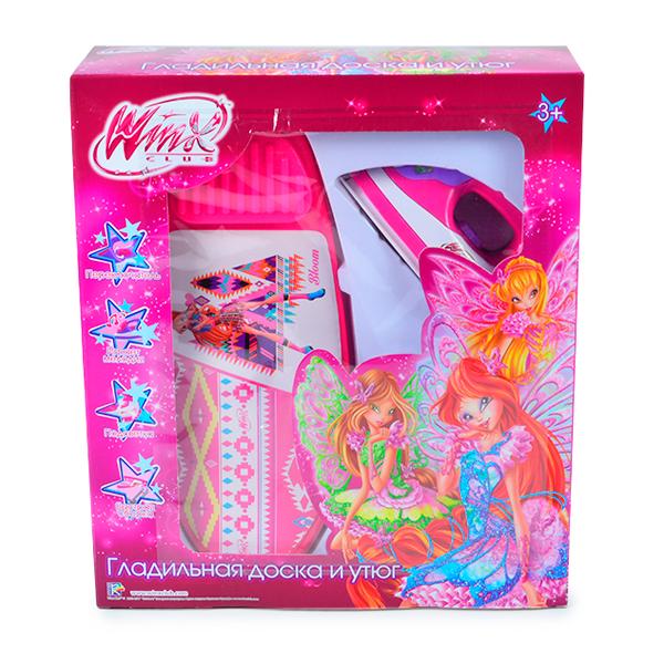 Игровой набор бытовой техники Winx (функц. утюг, гладильная доска 30,5 см, свет, звук) (WNX0207-106)