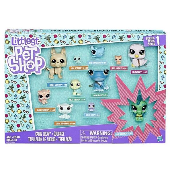 Игровой набор Mattel Littlest Pet Shop B9343EU40-C1673