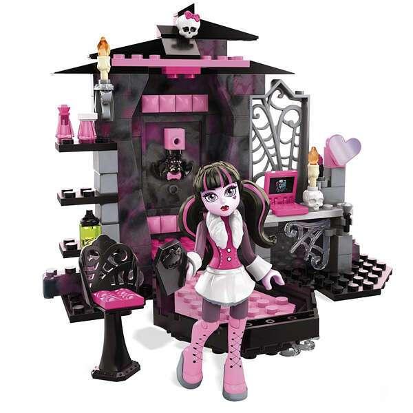 Набор Monster High Комната Дракулауры Mega Blocks CNF80