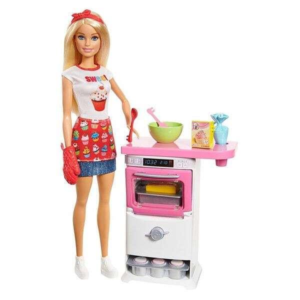 Игровой набор Барби Пекарь FHP57