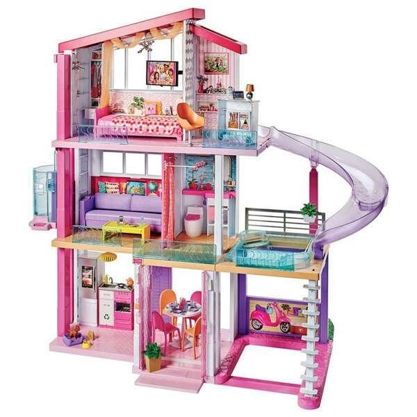 Набор Барби Дом мечты с горкой FHY73