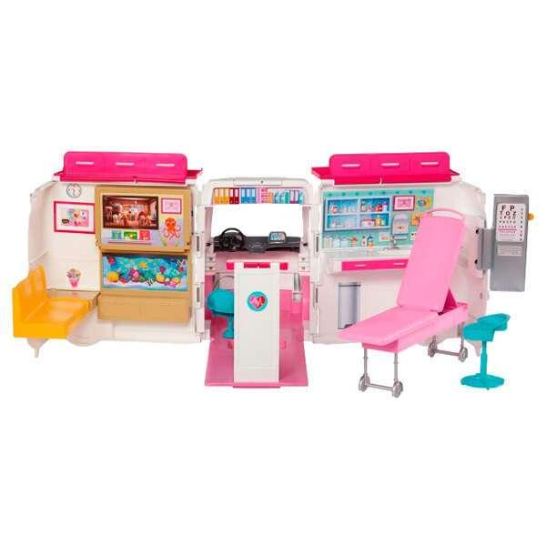 """Игровой набор Барби """"Спасательный центр"""" FRM19"""